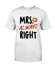 Mrs Right Classic T-Shirt thumbnail