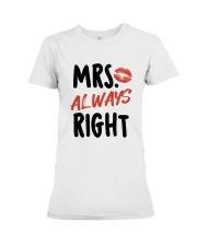 Mrs Right Premium Fit Ladies Tee thumbnail
