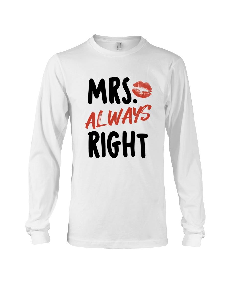 Mrs Right Long Sleeve Tee