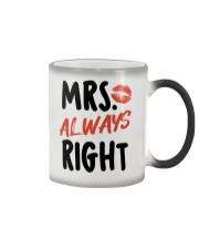 Mrs Right Color Changing Mug thumbnail