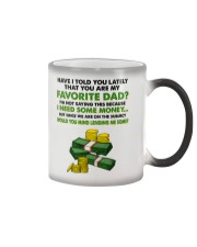 You Are My Favorite Dad Color Changing Mug thumbnail