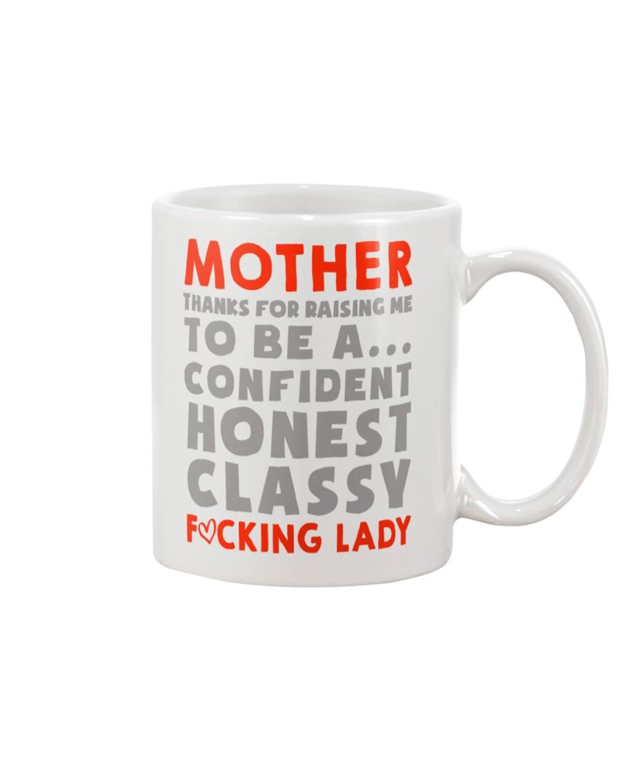 Mom Thanks For Raising me Mug