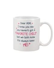 Me Always Favorite Child Mug front