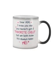 Me Always Favorite Child Color Changing Mug thumbnail
