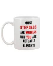 Stepdad Wankers Mug back