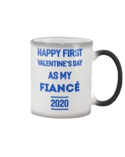 Happy First Valentine's Day As My Fiance Color Changing Mug thumbnail