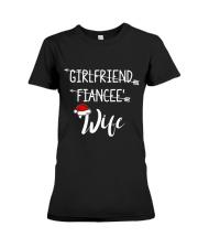 Fiancee' - Wife Premium Fit Ladies Tee thumbnail