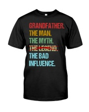 Grandfather Bad Influencer Classic T-Shirt front