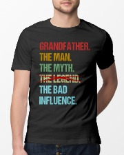 Grandfather Bad Influencer Classic T-Shirt lifestyle-mens-crewneck-front-13