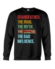 Grandfather Bad Influencer Crewneck Sweatshirt thumbnail