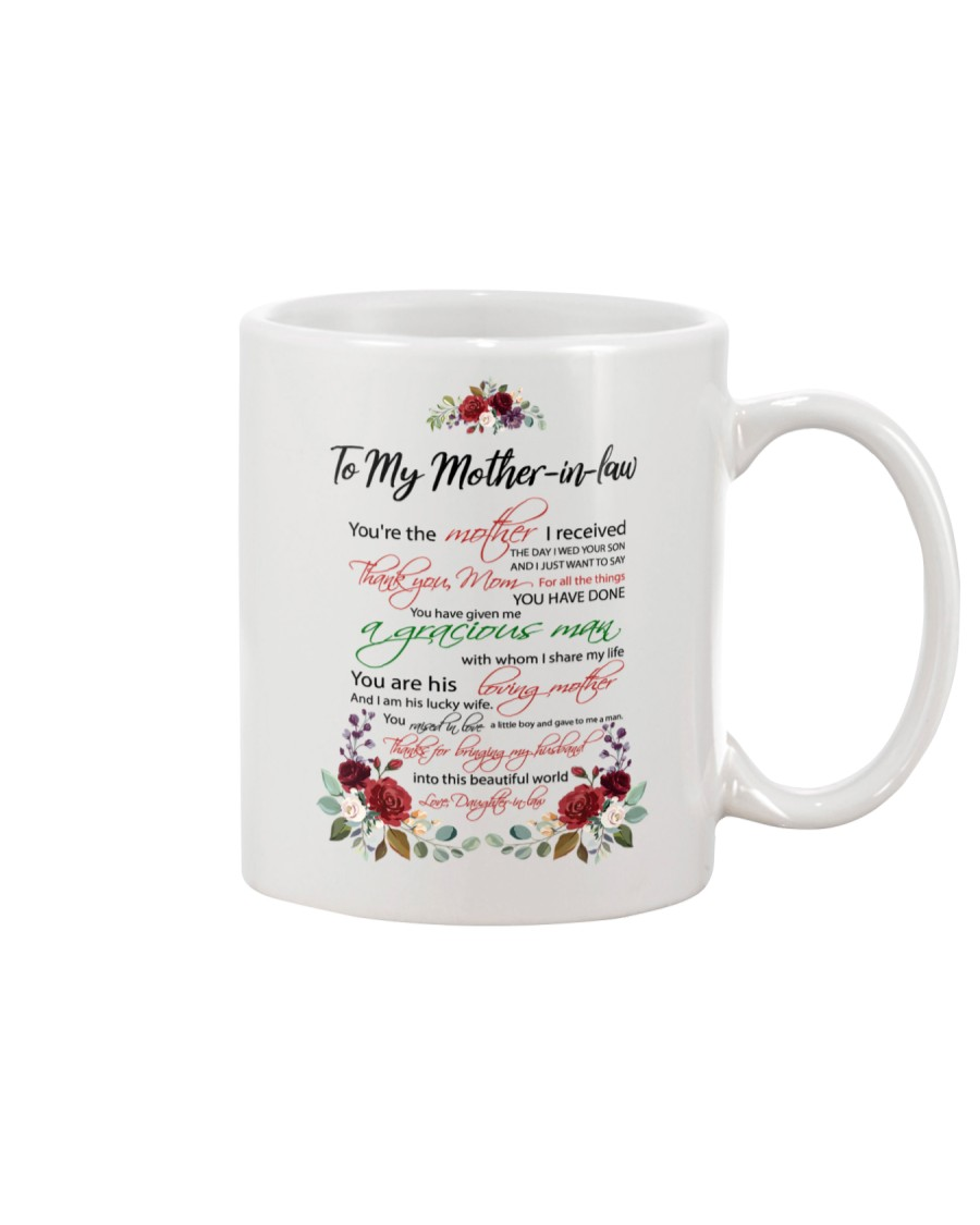 Mother-in-law Mother I Received Mug