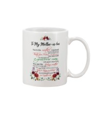 Mother-in-law Mother I Received Mug front