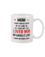 Love Mum My Whole Life Mug front
