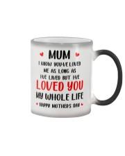 Love Mum My Whole Life Color Changing Mug thumbnail