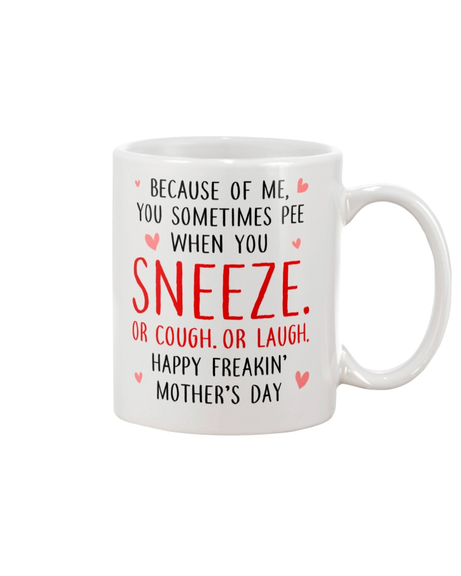 Sneeze Cough Laugh Mug