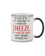 Sneeze Cough Laugh Color Changing Mug thumbnail