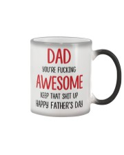 Dad Awesome Keep Up Color Changing Mug thumbnail