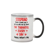 Stepdad You're A Brave Guy Color Changing Mug thumbnail