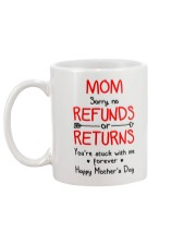 Mom Stuck With Me Mug back