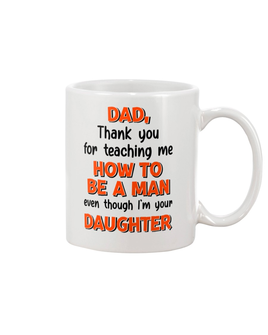 Dad Raise Like Man Mug