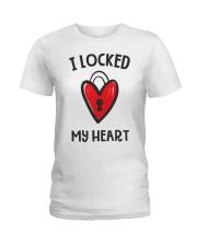 Couple Looked Key Ladies T-Shirt thumbnail