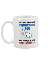 Squirting Me On Mum's Face AUS Mug back