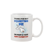 Squirting Me On Mum's Face AUS Mug front