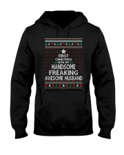 First Christmas Pretty Freaking Hooded Sweatshirt thumbnail
