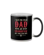 Dad And Grandpaw Color Changing Mug thumbnail