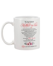 Future Mother-in-law Mug back