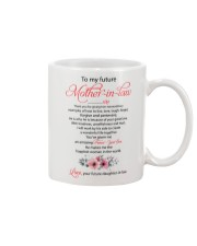 Future Mother-in-law Mug front