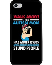 Walk Away Autism Mom  Phone Case tile