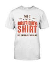 Girlfriend Shirt  Classic T-Shirt front