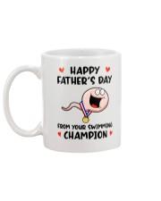 Swimming Champion Mug back