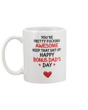 Awesome Bonus Day Dad Mug back
