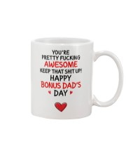 Awesome Bonus Day Dad Mug front
