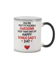 Awesome Bonus Day Dad Color Changing Mug thumbnail