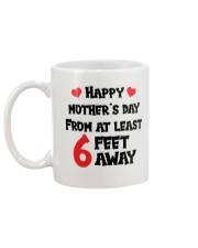 At Least 6 Feet Away Mug back