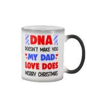 DNA Doesn't Make You My Dad Color Changing Mug thumbnail