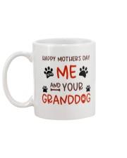 From Me And Your Granddog Mug back