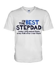 I'm The Best Stepdad V-Neck T-Shirt thumbnail