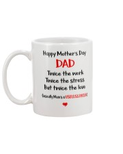 Single Dad Useless Prick Mug back