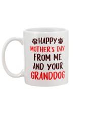 From Me Granddog Mug back
