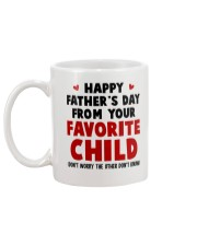 From Your Favorite Child Mug back