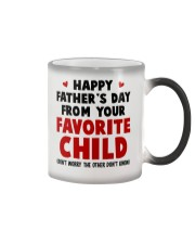 From Your Favorite Child Color Changing Mug thumbnail