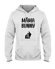 Mama Bunny Pregnancy Hooded Sweatshirt thumbnail
