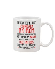 Technically Not My Mom Mug front