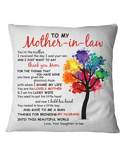 Thank You Mother-in-law Pillow
