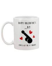 Happy Valentine Get D Tonight Mug back