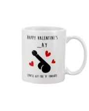 Happy Valentine Get D Tonight Mug front